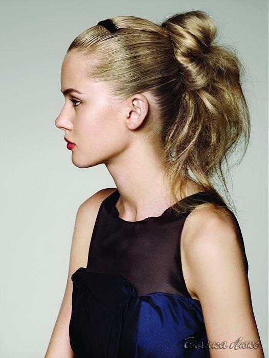 молодежные прически на длинные волосы для девушек фото