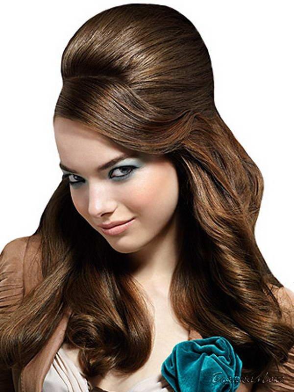 Стиляжные прически для длинных волос