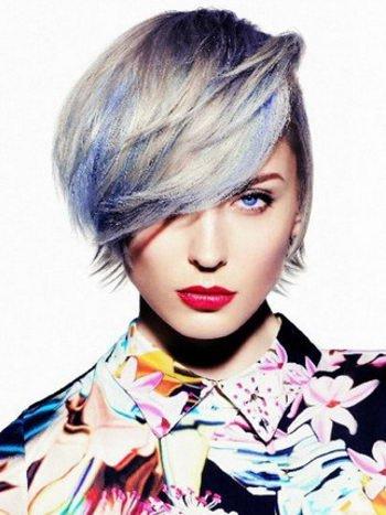 модные прически и цвета волос 2009